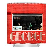 George Diner Shower Curtain