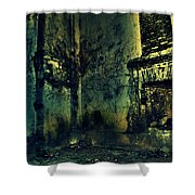 George Everest's House Mussoorie Shower Curtain