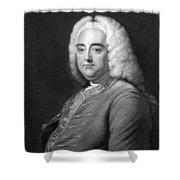 George Frederic Handel Shower Curtain