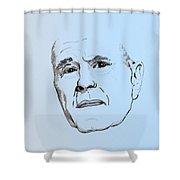 George H. W. Bush Shower Curtain