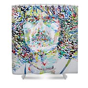 George Harrison Portrait.2 Shower Curtain