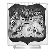 George IIi: Coat Of Arms Shower Curtain