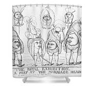 George Iv Wedding Shower Curtain