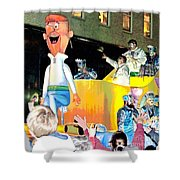 George Jetson Poster Shower Curtain