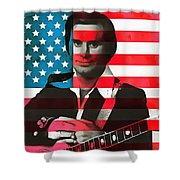 George Jones American Country Shower Curtain