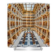 George Peabody Library I Shower Curtain