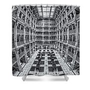 George Peabody Library II Shower Curtain
