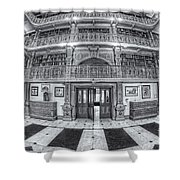 George Peabody Library Vi Shower Curtain