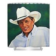 George Strait Shower Curtain