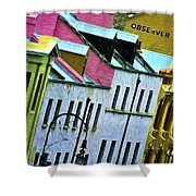 George Street In The Rocks Shower Curtain