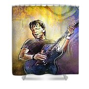 George Thorogood In Cazorla In Spain 02 Shower Curtain
