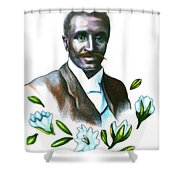 George Washington Carver Shower Curtain