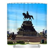 George Washington Monument Shower Curtain