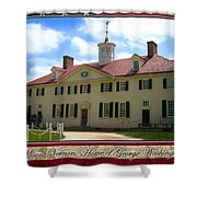George Washington's Mount Vernon Shower Curtain