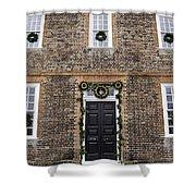 George Wythe House Williamsburg Shower Curtain