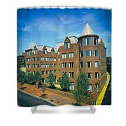 Georgetown Apartments - 1980s Shower Curtain