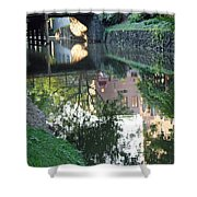Georgetown Canal Reflections Shower Curtain