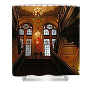 Georgetown's Healy Hall Shower Curtain
