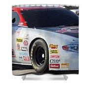 Georgia Racing Hall Of Fame Car Shower Curtain