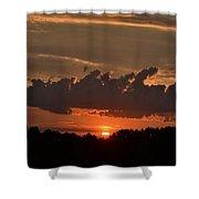 Georgia Sunset Shower Curtain