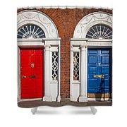 Georgian Doors Shower Curtain by Inge Johnsson