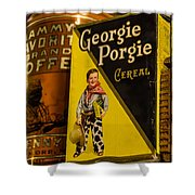 Georgie Porgie Shower Curtain