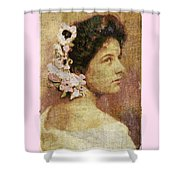 Geraldine Farrar Shower Curtain