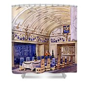 German Dining Hall, Early 20th Century Shower Curtain