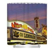 German Fries Topsfield Fair Shower Curtain