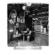 German Rathskellar 1900 Shower Curtain