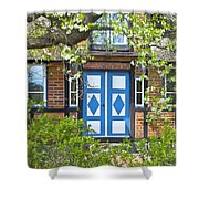 German Timber-framed Country House Shower Curtain