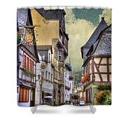 German Village Shower Curtain