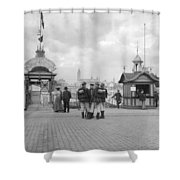 Germany Cologne, C1910 Shower Curtain