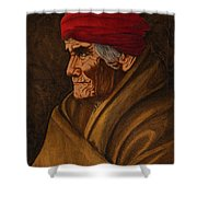 Geronimo At 77 Shower Curtain