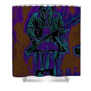 Geronimo With Rifle C.s. Fly Photo 1887-2008 Shower Curtain