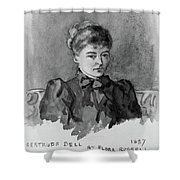 Gertrude Bell (1868-1926) Shower Curtain