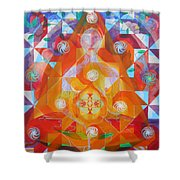 Gestation Shower Curtain