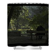 Romantic Moments Shower Curtain