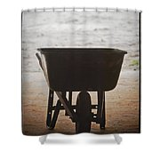 Get Back To Work Shower Curtain by Patrick M Lynch