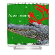 Get Merry Shower Curtain
