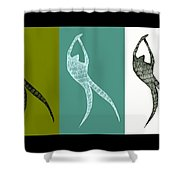 Get Moving Shower Curtain