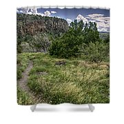 Get Off The Road And Enjoy Nature Shower Curtain