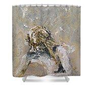 Getsemani Shower Curtain