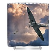 Getting The Jump Shower Curtain