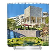 Getty Center Central  Garden Brentwood  Ca Shower Curtain