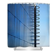 Getty Center Ladder Shower Curtain