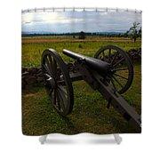 Gettysburg Battlefield Historic Monument Shower Curtain by James Brunker