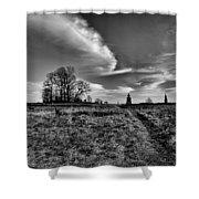 Gettysburg Sky Shower Curtain