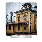 Gettysburg Train Station Shower Curtain