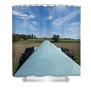 Gettysburg Vintage Cannon Macro Shower Curtain